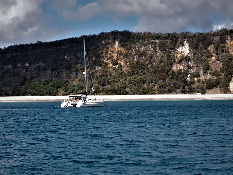 Triangle Cliffs found on Fraser Island