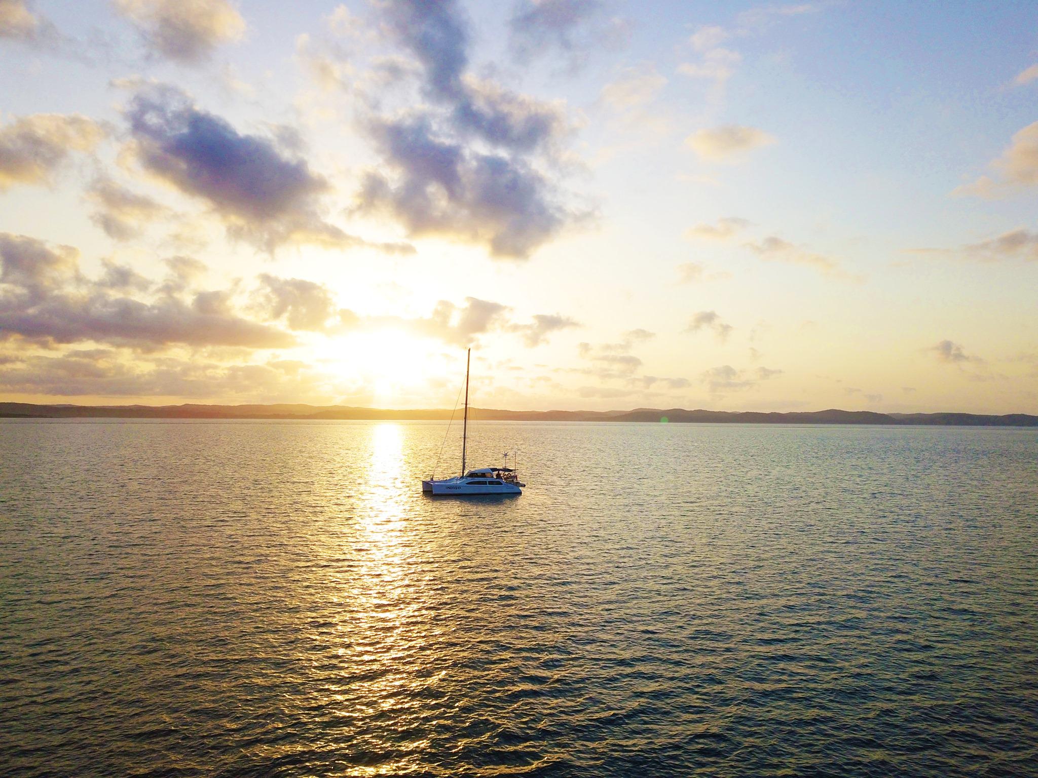 Yacht hire near Fraser Island